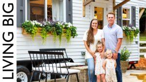 Rodinný domeček pro malé farmy ve stylu statku