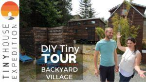 Rodinný rodinný dům Grid Tiny House v půvabné vesnici Backyard Village