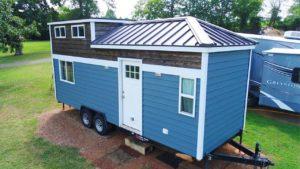 Rustikální krásný drobný dům od národa drobného domu Životní Design Pro Malý Dům