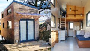 Rustikální krásný malý dům od La Mandrinoise   Životní Design Pro Malý Dům