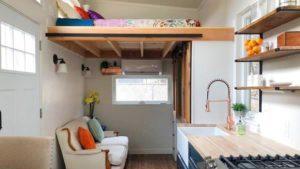 Rustikální nádherný moderní malý dům na prodej Krásný malý dům