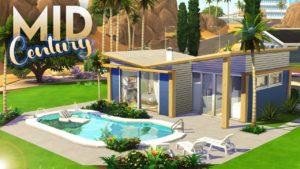 STŘEDNÍ MODERNÍ TINY DOMŮ | The Sims 4: Speed Build [NO CC]