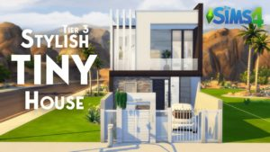 STYLISH TINY HOUSE - Stupeň 3 | Žádné CC | The Sims 4 Stop Motion Build