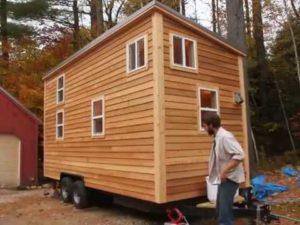 Sherwood Tiny House na přívěsu