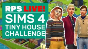 Sims 4 Tiny House Challenge! | Pojďme si zahrát Sims 4 Tiny Living Stuff Pack