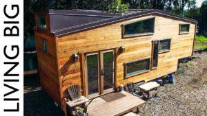 Skvěle ručně vyrobený dům Eco Tiny
