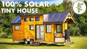 Super high-tech off-grid malý dům pro udržitelné bydlení | Čistá nulová energie domů
