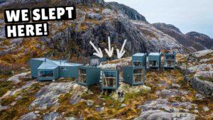 TINY HOME VILLAGE v Norsku! (neuvěřitelná sauna a venkovní sprcha)