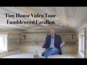 TINY HOUSE VIDEO TOUR zbrusu nového 30 ft Tumbleweed Farallon