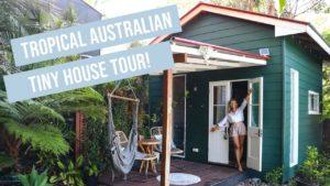 Tiny HOUSE TOUR | Luxusní, tropický tematický domeček v Austrálii