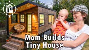 Tiny House Family! 2 miminka, skvělá doga a máma, která to postavila