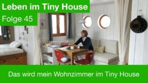 To bude můj obývací pokoj v Drobném domě