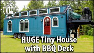 Velký Fancy TINY HOUSE s palubou BBQ. Lepší než RV!