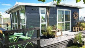 Velmi moderní a moderní skleněný dům od Eco Cottages | Malý dům velké bydlení