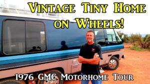 Vintage Tiny Home on Wheels - GM6 Motorhome Tour z roku 1976