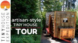 Vynikající ručně vytvořený drobný dům Nomadic Couple