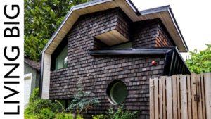 Wabi-Sabi Moderní japonský malý domov inspirovaný