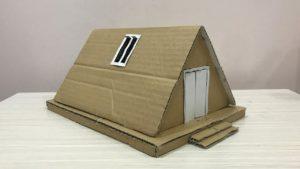 Úžasná jednoduchá značka A-Frame Cabin Tiny House
