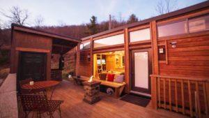 Úžasný útulný cestovatel XL Tiny House poblíž Boone NC Nádherný malý dům