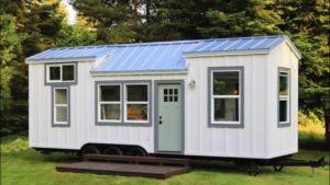 Úžasný krásný dům Seabrook na kolečkách z ručně hnutí Malý dům velké bydlení