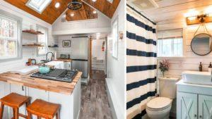 Úžasný luxusní malý zelený dům s plnou kuchyní