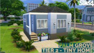 1 PALM GROVE // TIER 2 TINY HOME // SIMS 4 // NE CC