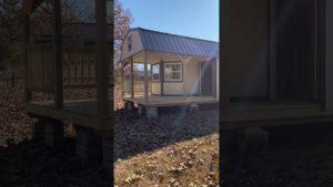 12x40 kabina / malý domov