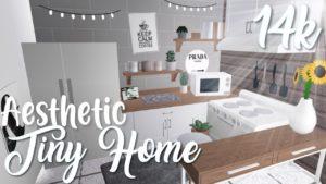 14k Aesthetic Tiny Home   Bloxburg
