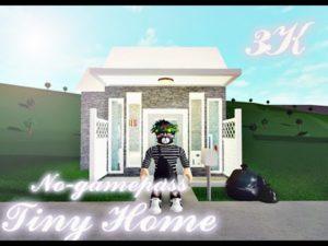 3k No-gamepass Tiny Home   Bloxburg   Rychlost sestavení