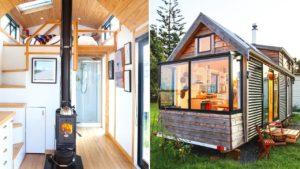 Absolutely Beautiful Camanda Tiny House in NZ od Love-Shack Tiny Homes | Malý dům velké bydlení