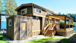 Absolutely Ohromující SAN JUAN TINY DŮM NA WILDWOOD LAKEFRONT COTTAGES   Nádherný malý dům