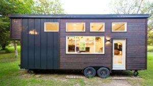 Absolutně Útulný přírodní moderní 26ft malý dům na přívěsu od Made Relative | Nádherný malý dům