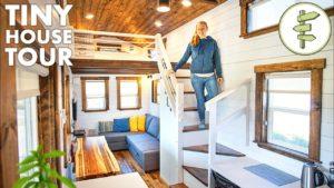 BIG Beautiful TINY HOUSE s prostorným a moderním designem - plná prohlídka