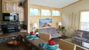 """BRILANTNÍ!! Inteligentní chata. Lepší než stísněné """"malé domovy""""."""