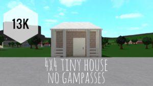 Bloxburg: 4x4 13k malý dům | žádné hry