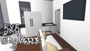 Bloxburg: 5x5 Tiny Home | 11k