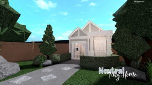 Bloxburg: Malý neutrální dům