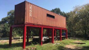 Brock Tiny House přepravní kontejner