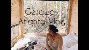 Bydleli jsme v malé chatě !!! | Getaway House Atlanta Vlog 2020!
