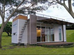 Casa Cúbica má 160 Sq. Ft. Přepravní kontejner Tiny Home