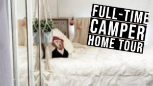 DIY 34 & # 39; Camper Build | Naše Tiny House Tour
