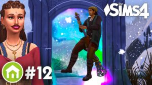 Do sféry magie 💖🔮 Zahrajme si balíček The Sims 4 Tiny Houses Pack č. 12 (německy)