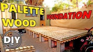 Domeček pro kutily, kůlna, srub, nadace z dřevěných palet
