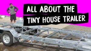 Můj malý dům Trailer velikost, cena, hmotnost, barva, izolace a podlahy