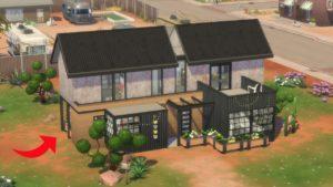 MODERNÍ PRŮMYSLOVÉ BALENÉ DĚTSKÉ DOMY (Sims 4: Speed Build)