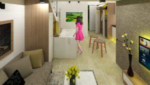Malý dům Ep2 22sqm (236sqft)   Nápady na úsporu místa Bydlení velké v malém domě