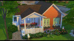 Malý dům pro studium / Sims 4 / Speed Build
