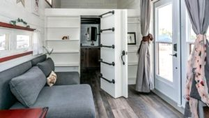 Malý dům v Kanadě 29,7 m2, nápady na design interiéru