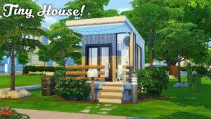 Malý dům v lese || The Sims 4: Speed Build
