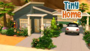 Malý dům z poloviny století 🏠 || Sims 4 Stop Motion Motion Build